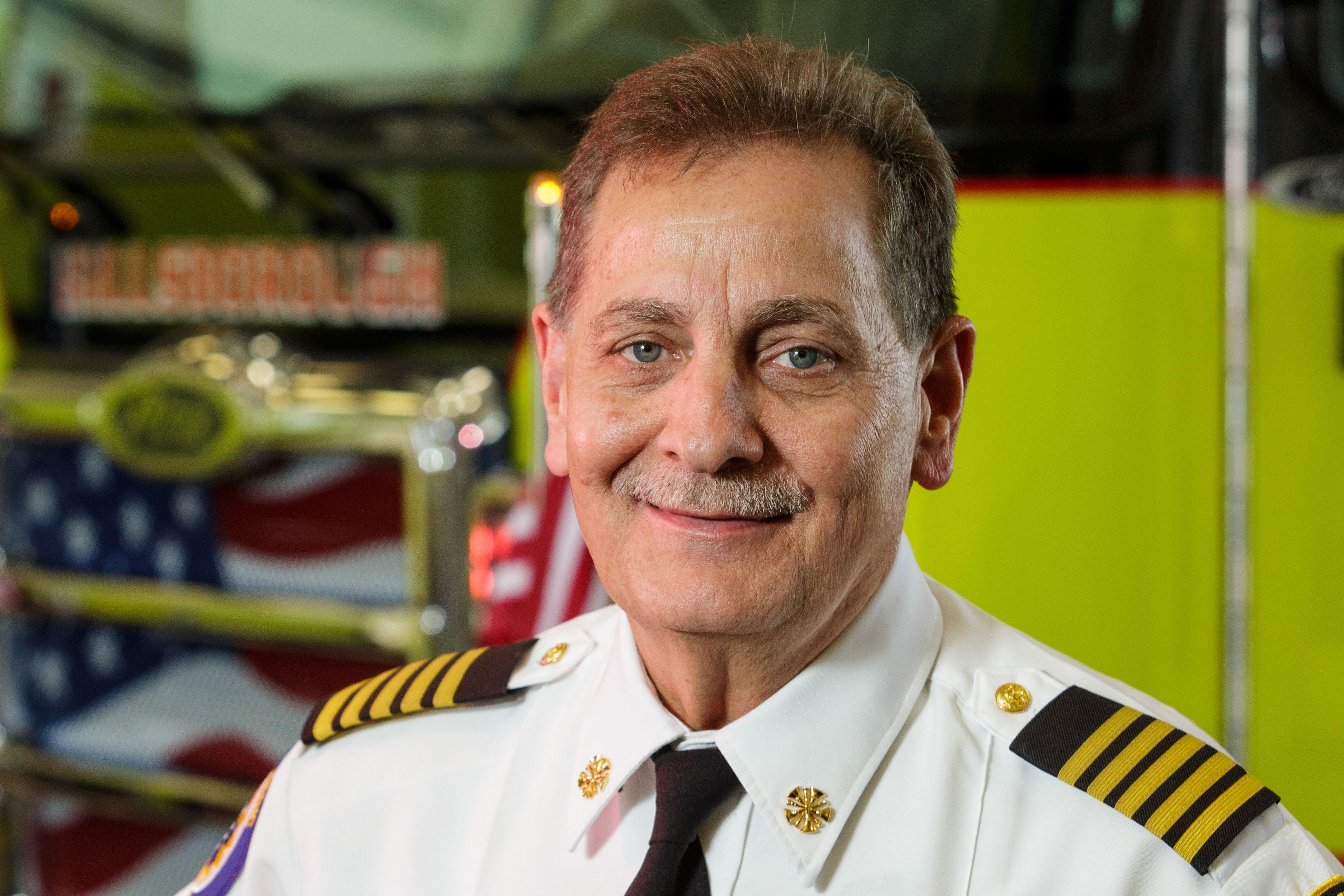 Hillsborough County Fire Rescue Chief Dennis Jones