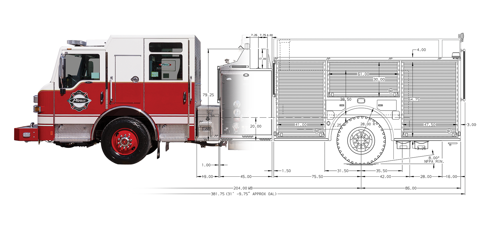 Build My Pierce (BMP) is a rapid configurator to simplify the fire apparatus design and ordering process.