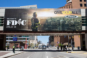 FDIC 2018 Skywalk Banner