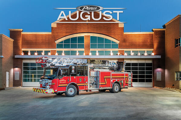 August 2021 Featured Fire Truck of the Month Temple