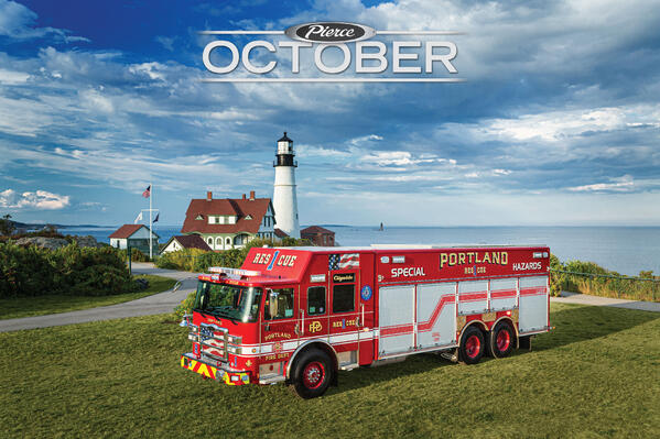 October 2021 Featured Fire Truck of the Month