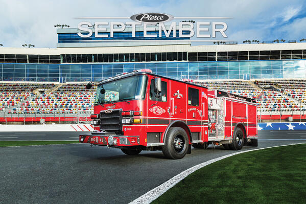 September 2021 Featured Fire Truck of the Month