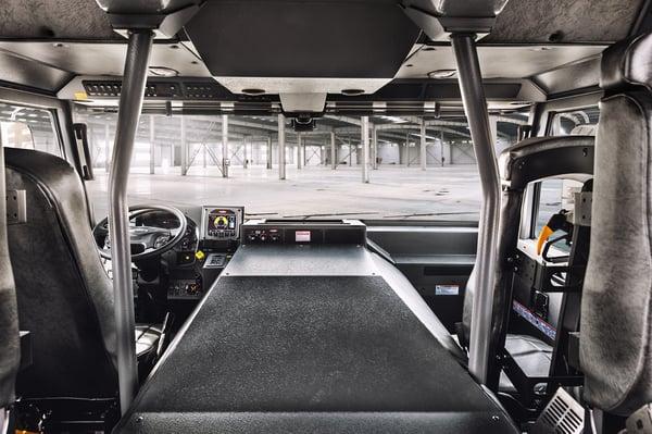 Enforcer Custom Fire Truck Chassis Interior
