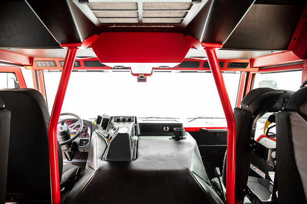 Impel Custom Fire Truck Chassis Interior