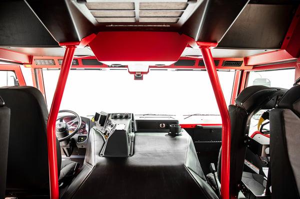 Velocity Custom Fire Truck Chassis Interior