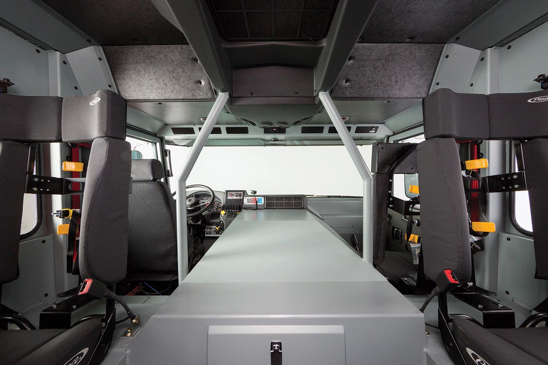 Pierce Enforcer Custom Chassis Cab