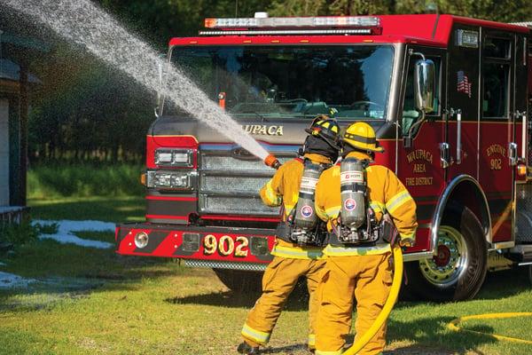 Fire Truck Suppression