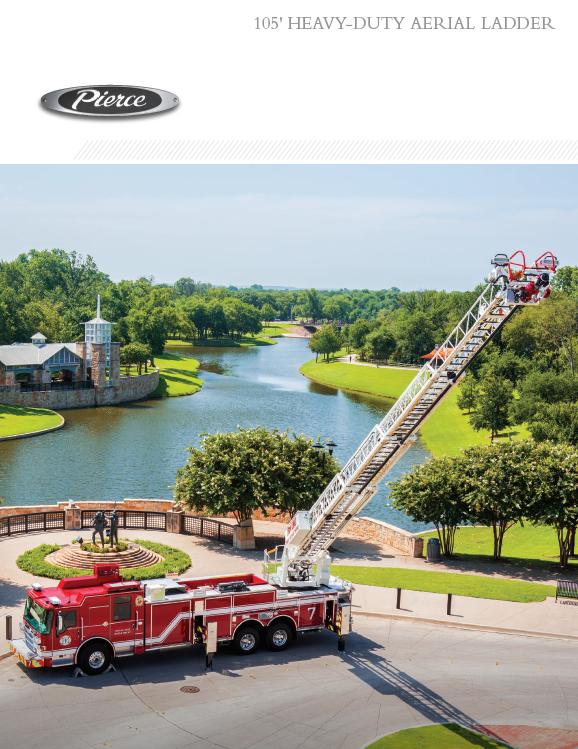 105' Heavy-Duty Aerial Ladder