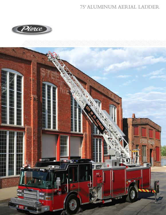 75' Aluminum Aerial Ladder