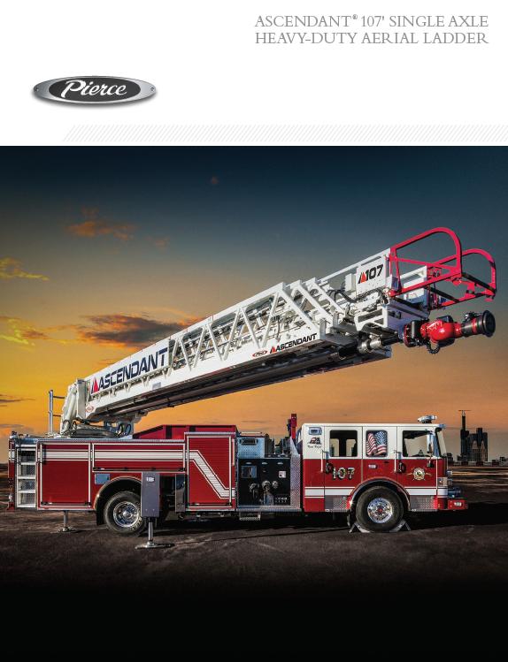 Ascendant® 107' Single Axle Heavy-Duty Aerial Ladder