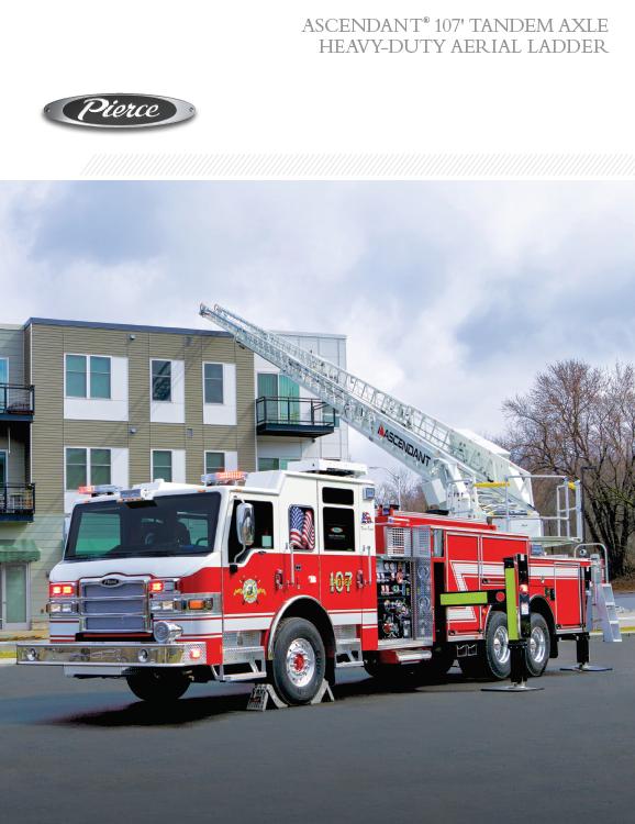 Ascendant® 107' Tandem Axle Heavy-Duty Aerial Ladder