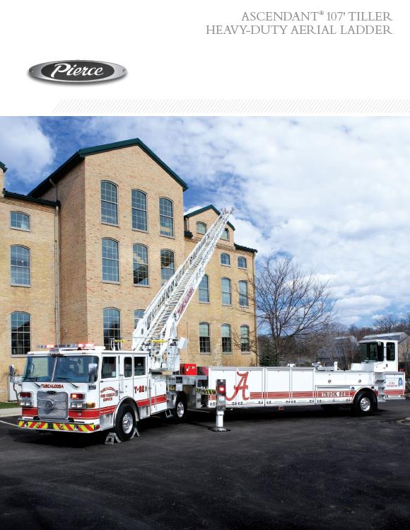 Ascendant® 107' Tiller Heavy-Duty Aerial Ladder