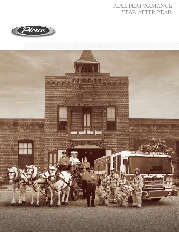 Pierce Historical Timeline Brochure