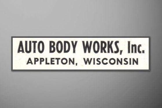 Auto Body Works, Inc. Appleton, WI