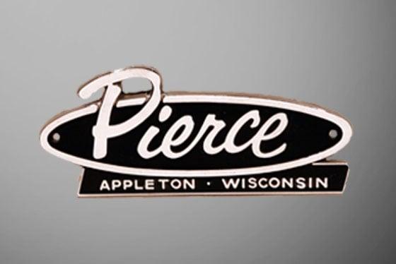 Pierce - Appleton Wisconsin Retro Logo