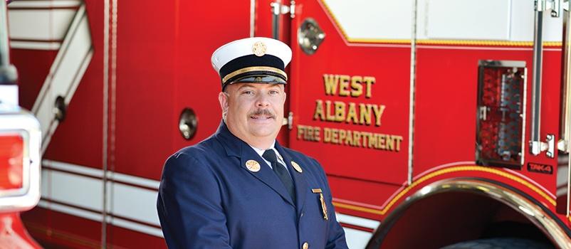 West-Albany-Fire-Chief-Dan-Sullivan-Pierce-Mfg
