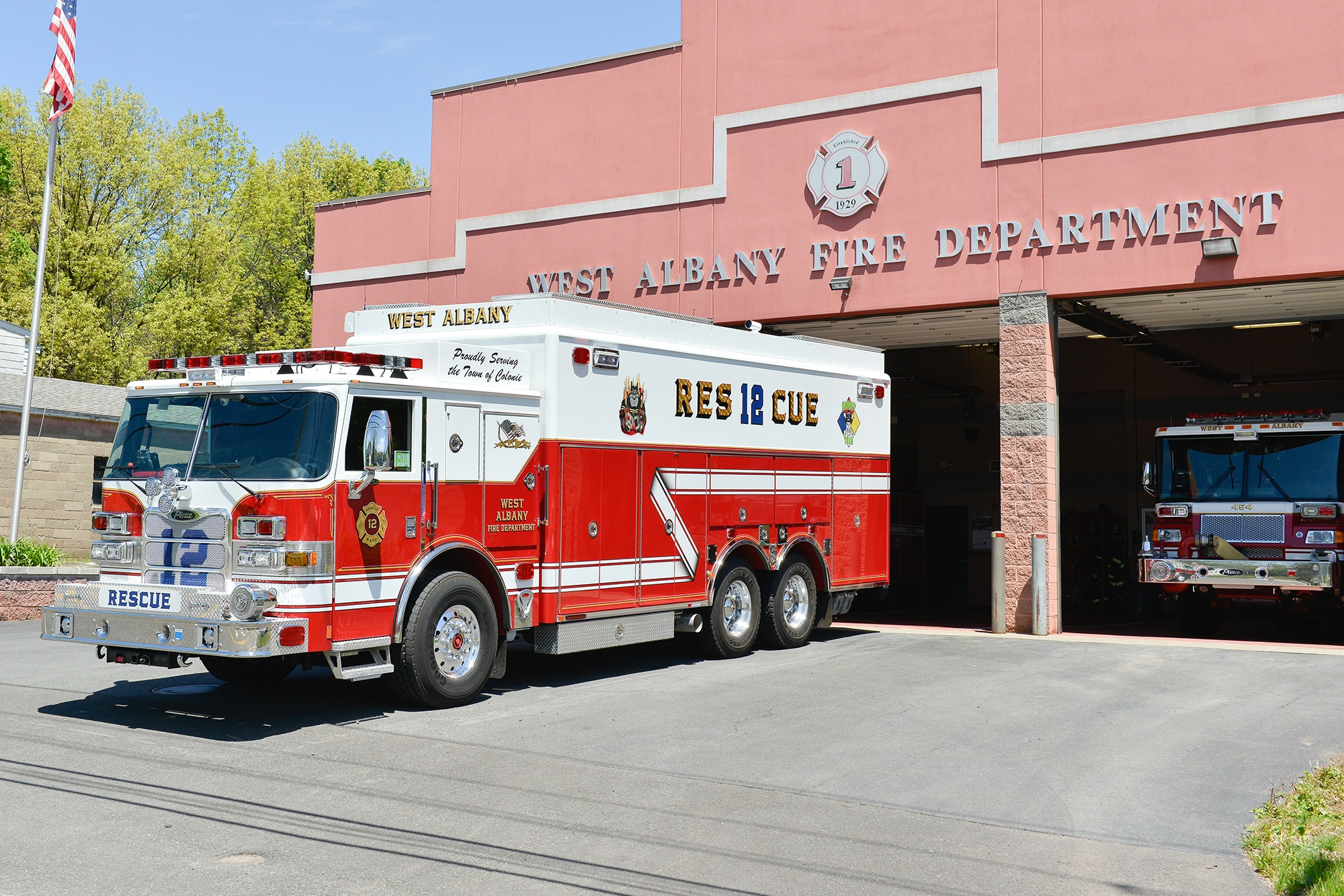 West-Albany-Fire-Department-Pierce-1