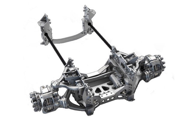 Pierce BMP - Front Suspension
