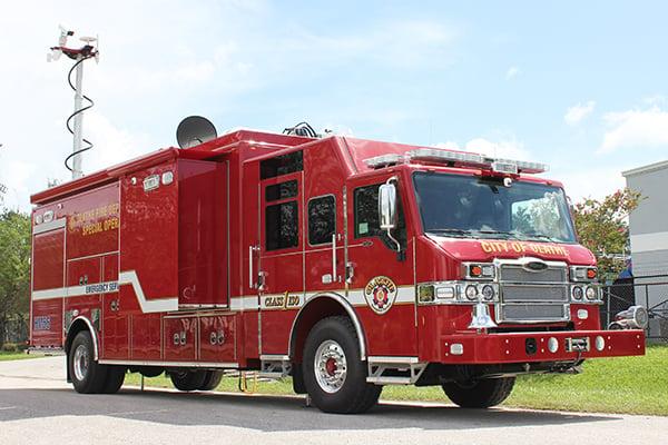 Pierce Rescue Applications - EOD Response