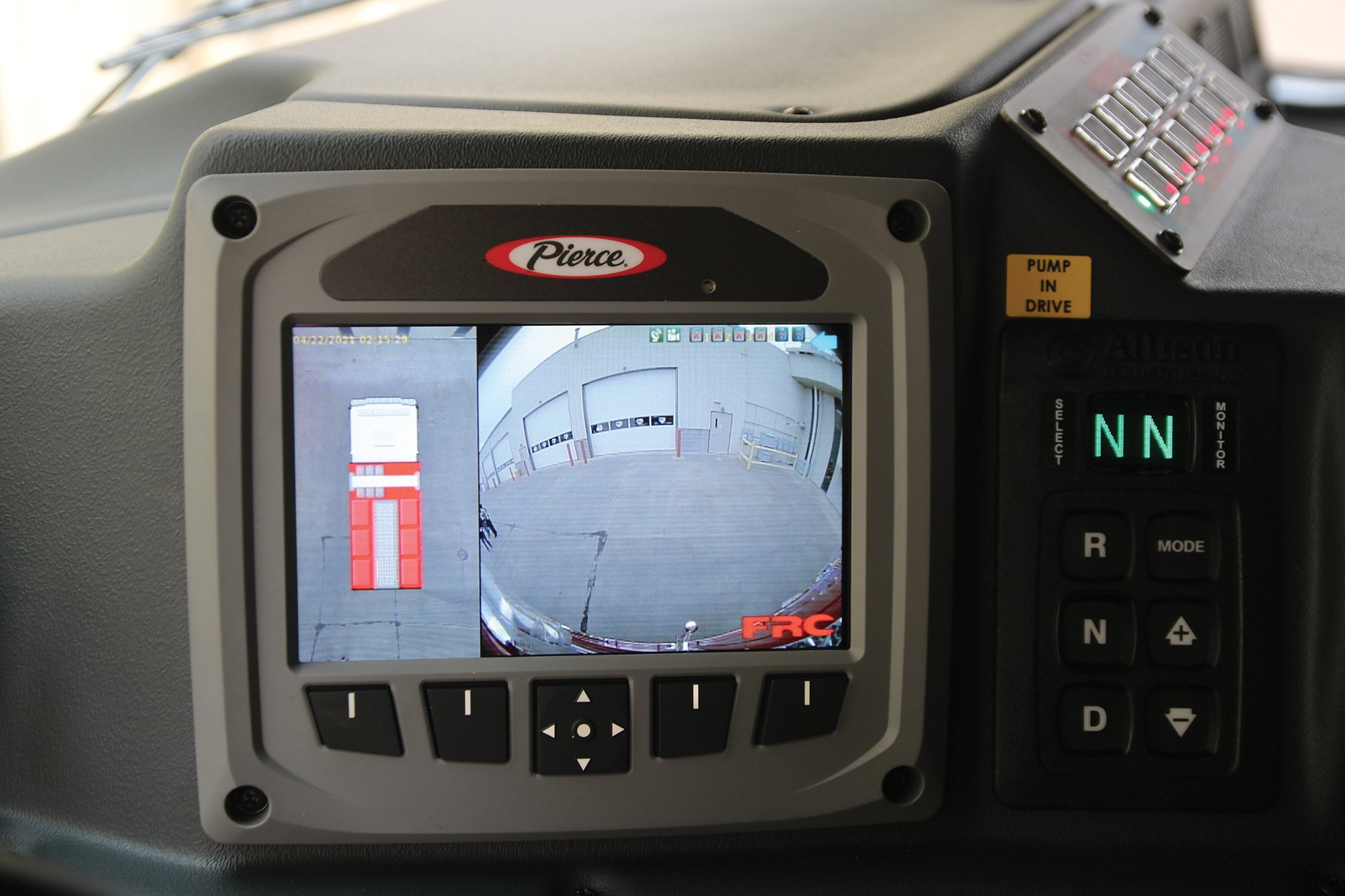 Fire Truck 360-degree Backup Camera