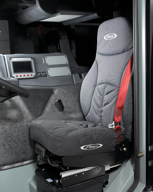 Fire Truck Seating Safety