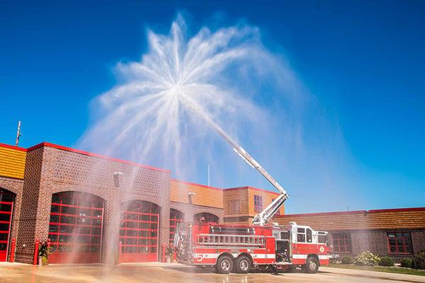 Pierce Fire Truck Snozzle 1250 gpm Waterway Nozzle