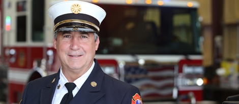 Image result for john johnston fire chief waco