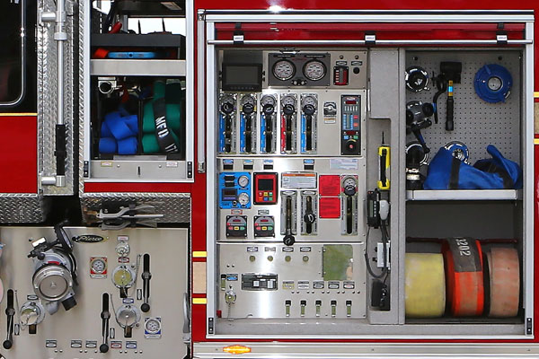 Pierce Ultimate Configuration PUC Pump Panel