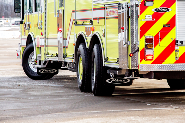 Fire Truck TAK-4 Independent Rear Suspension T3 Maximized Mobility