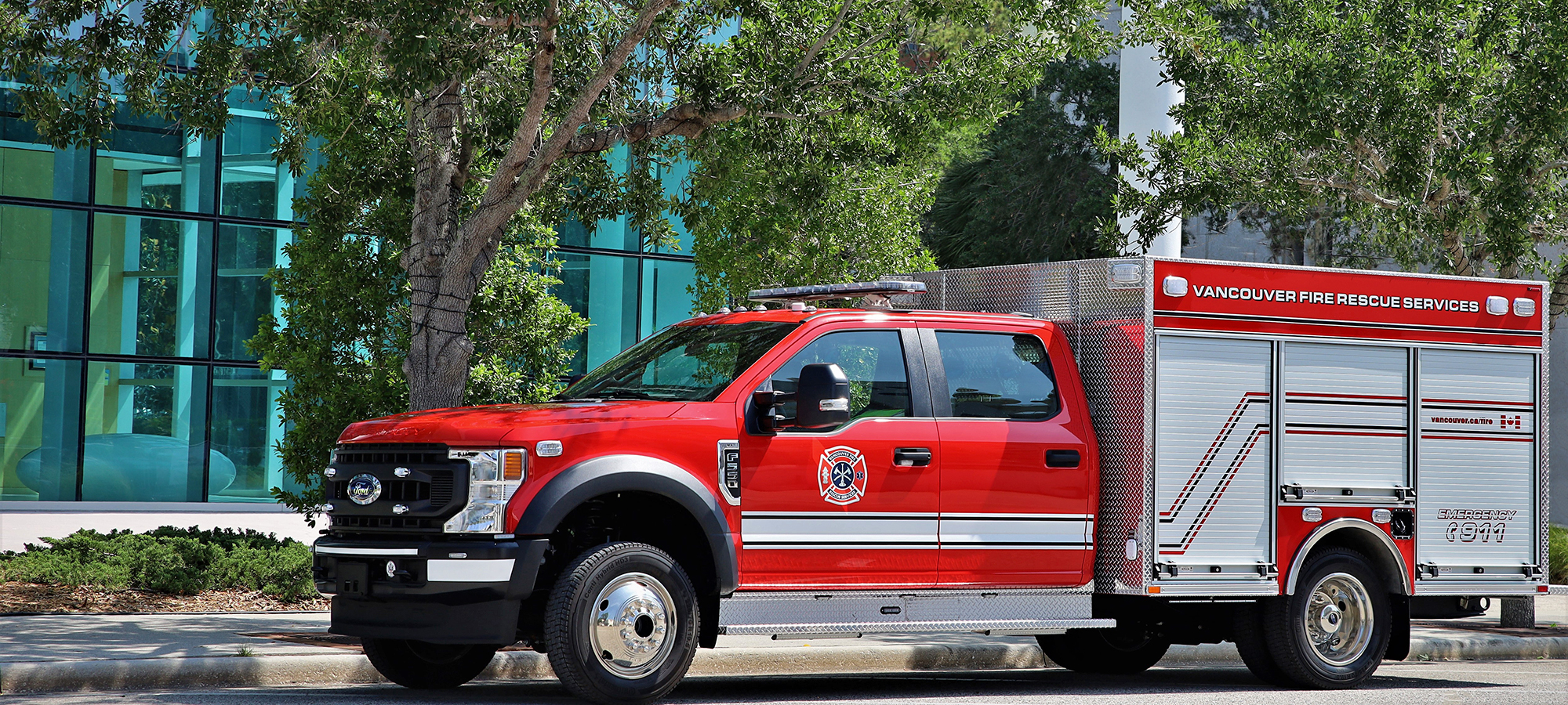 Ford Commercial Fire Truck Chassis