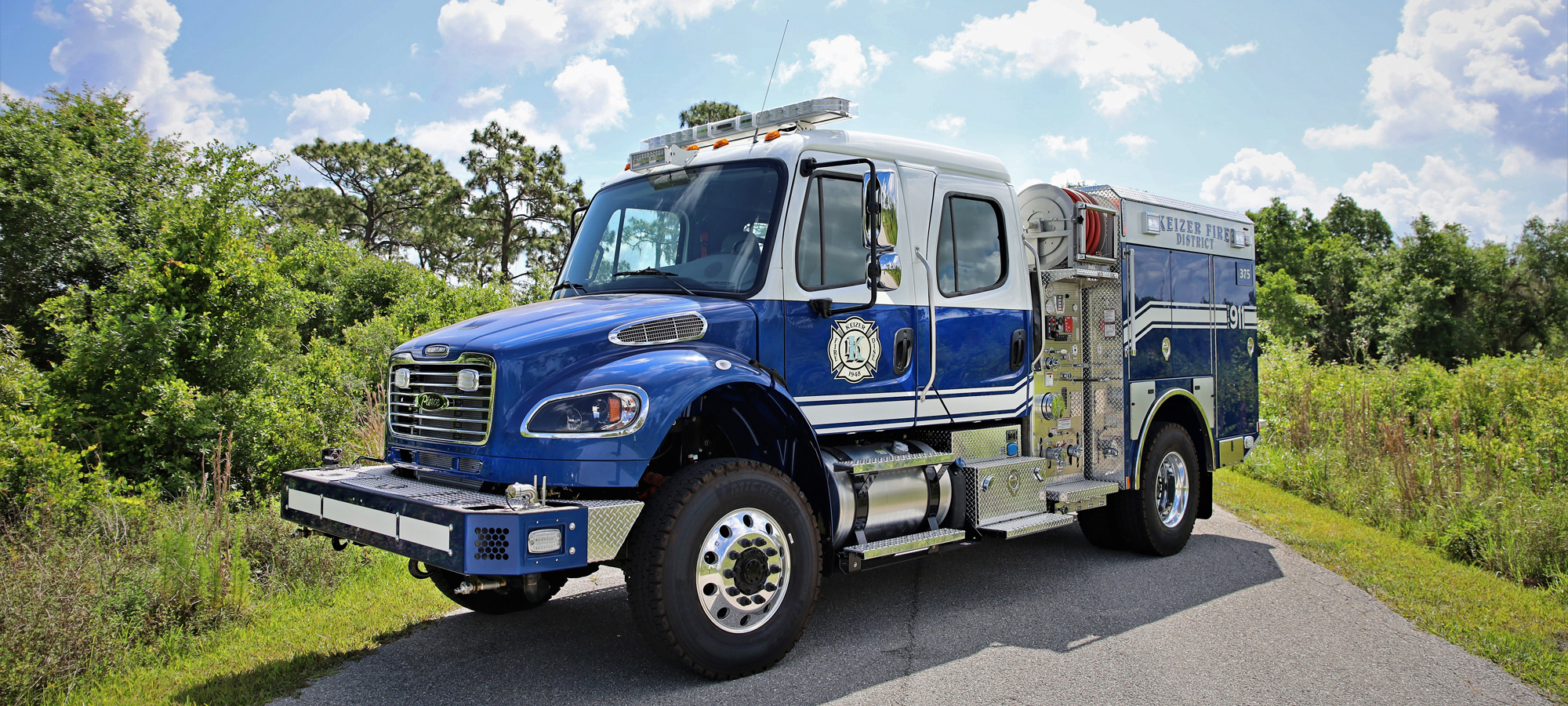 Freightliner Custom Fire Truck Chassis