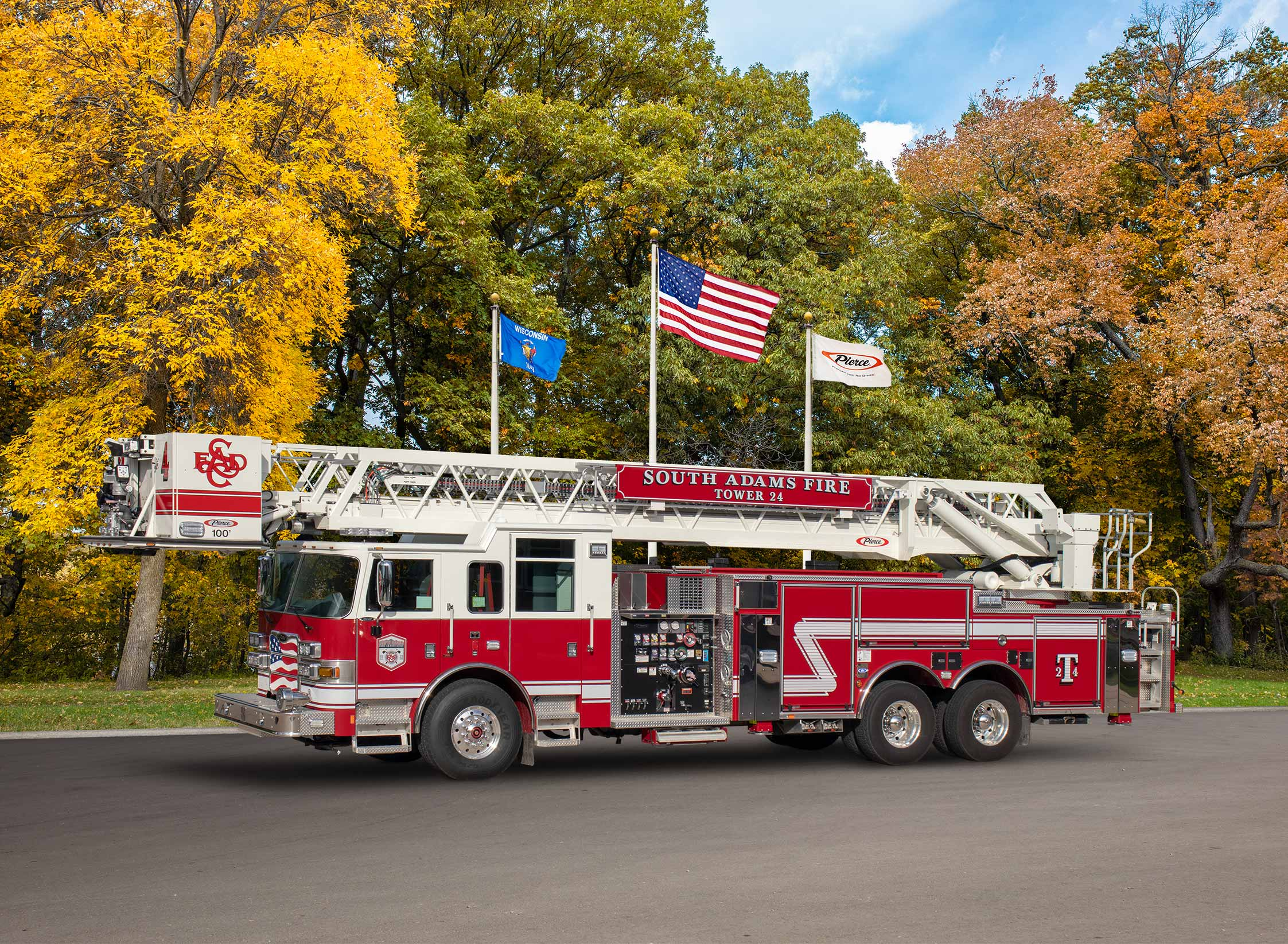 South Adams County Fire Protection District - Aerial