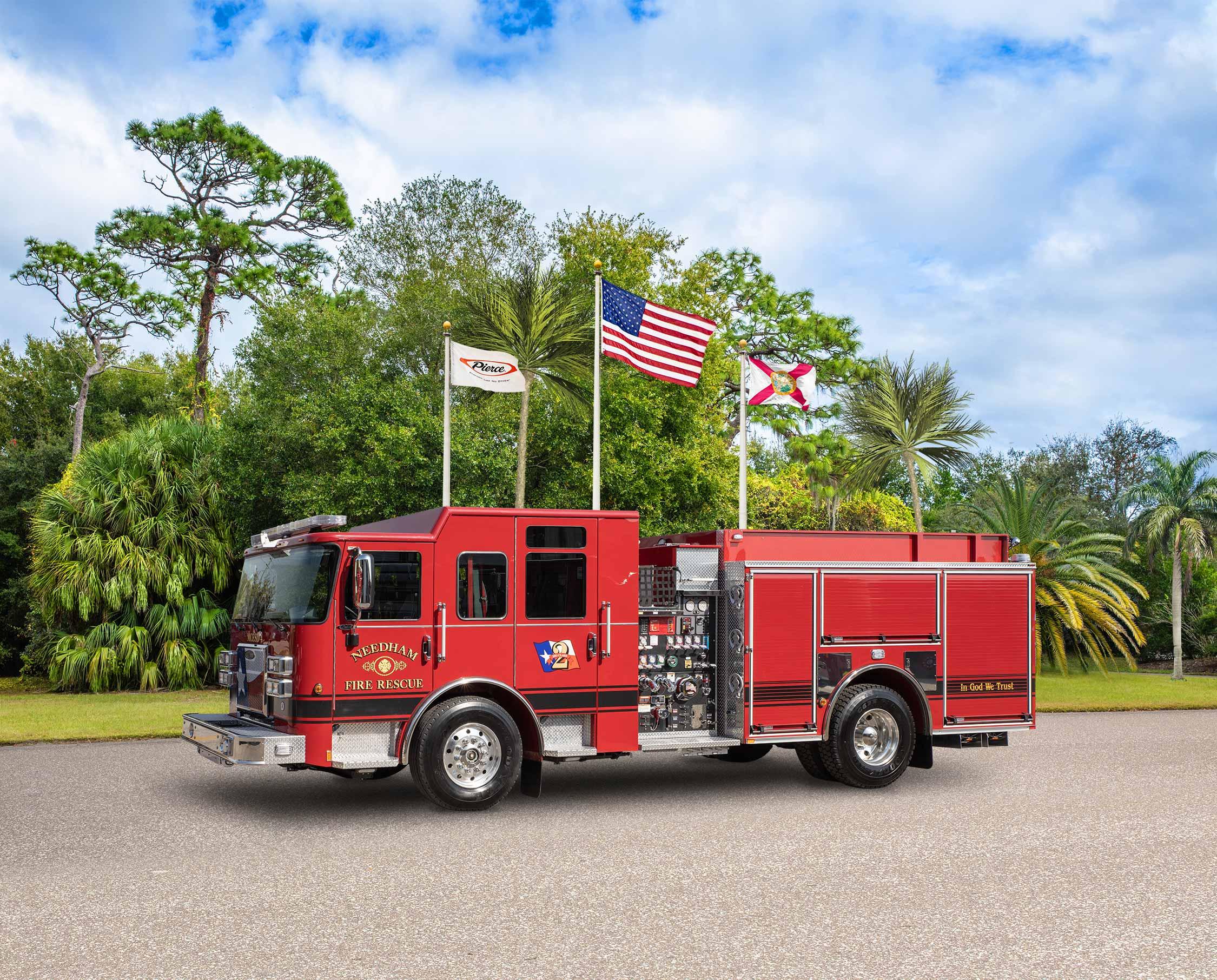 Montgomery County ESD No.4 - Needham Fire Rescue - Pumper