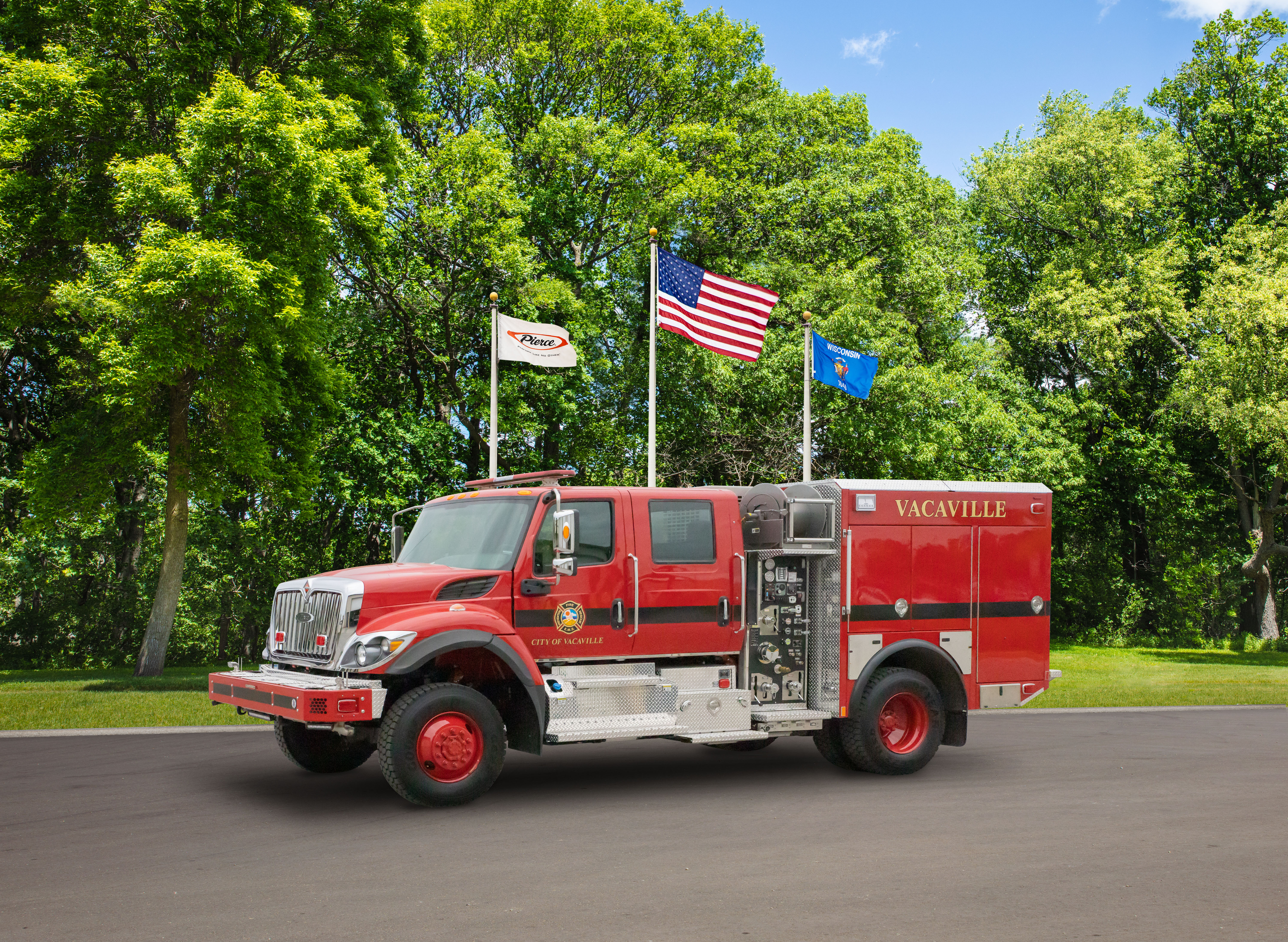 Vacaville Fire Department - Pumper
