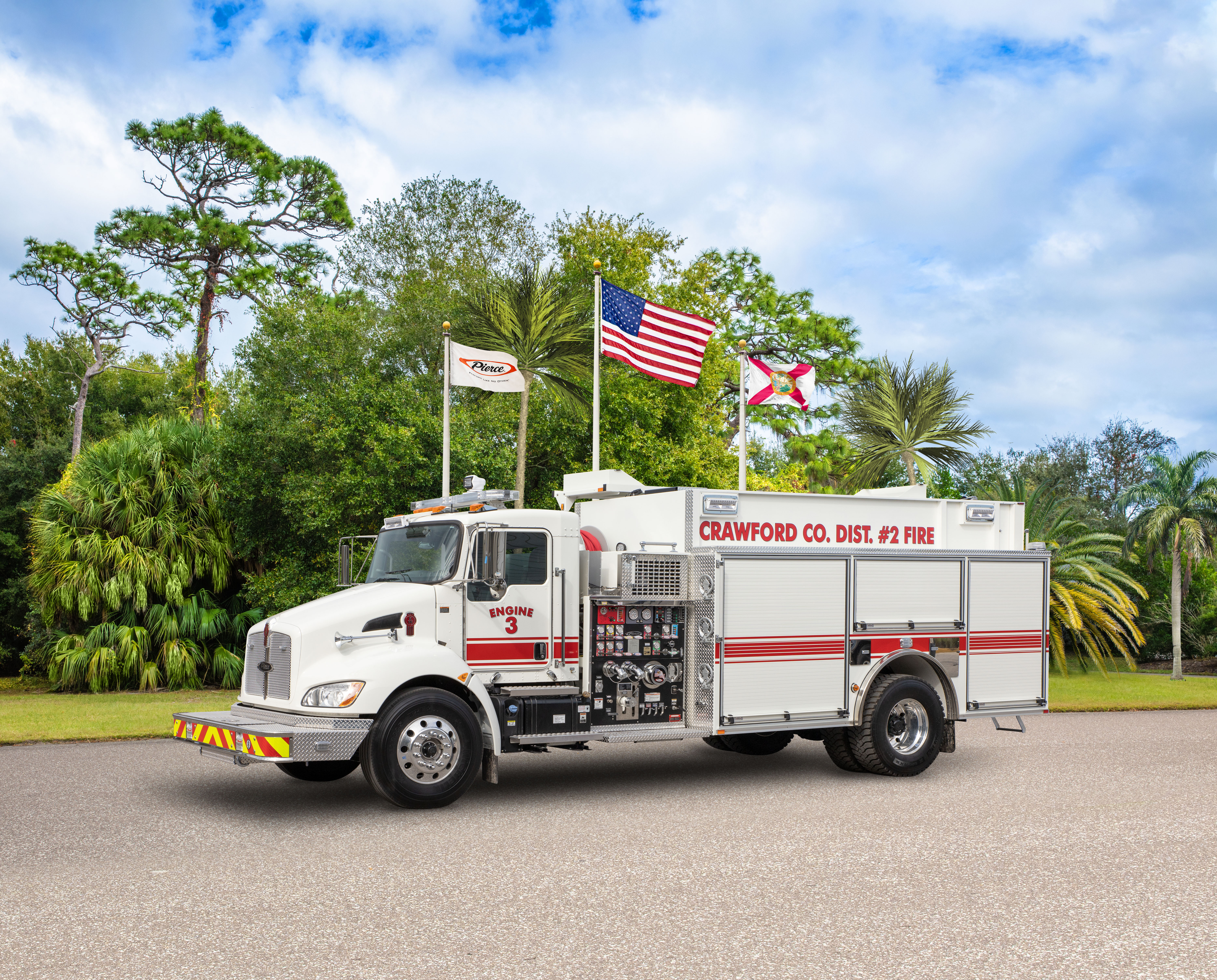 Crawford County Fire Department - Pumper