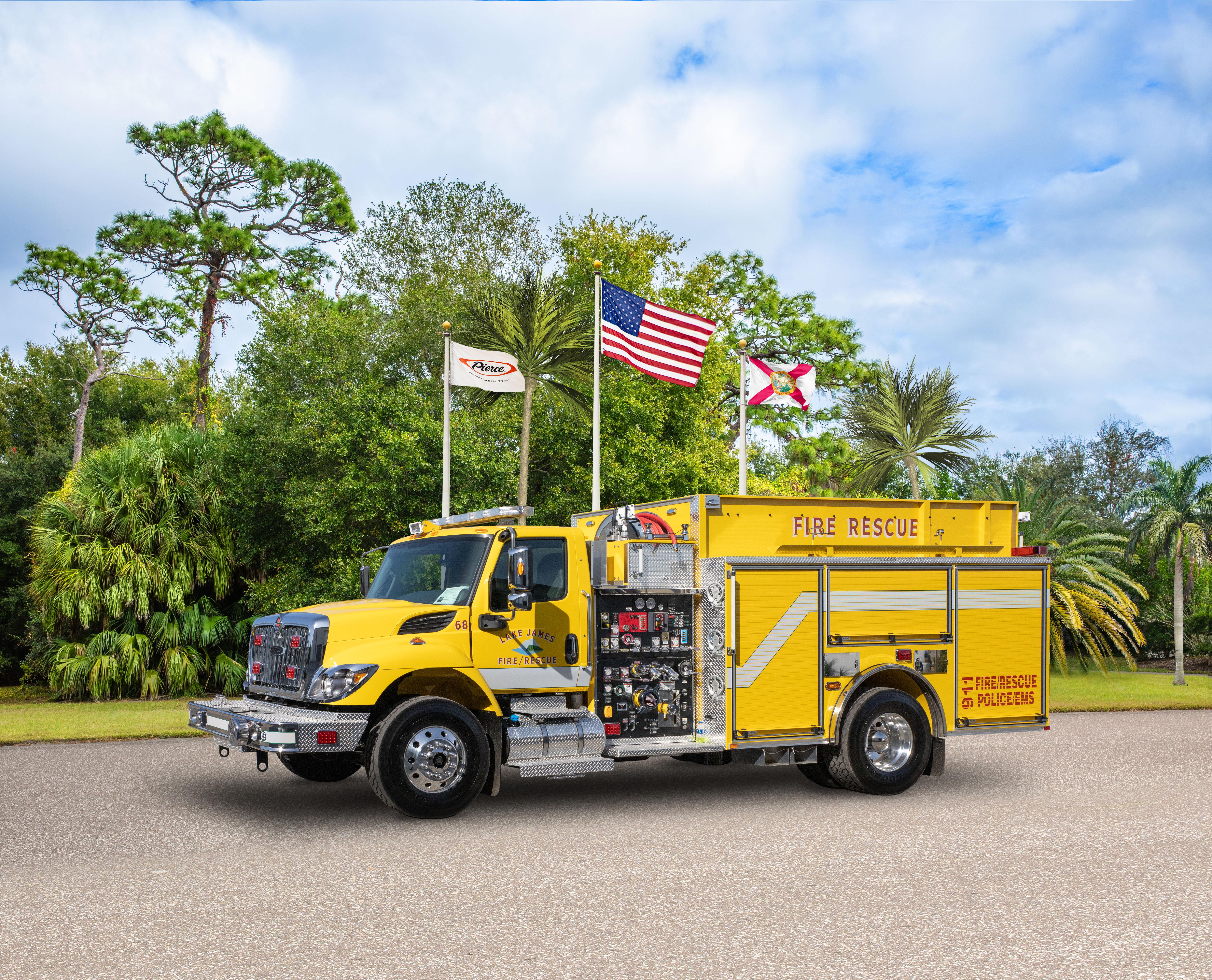Lake James Fire & Rescue, Inc. - Pumper