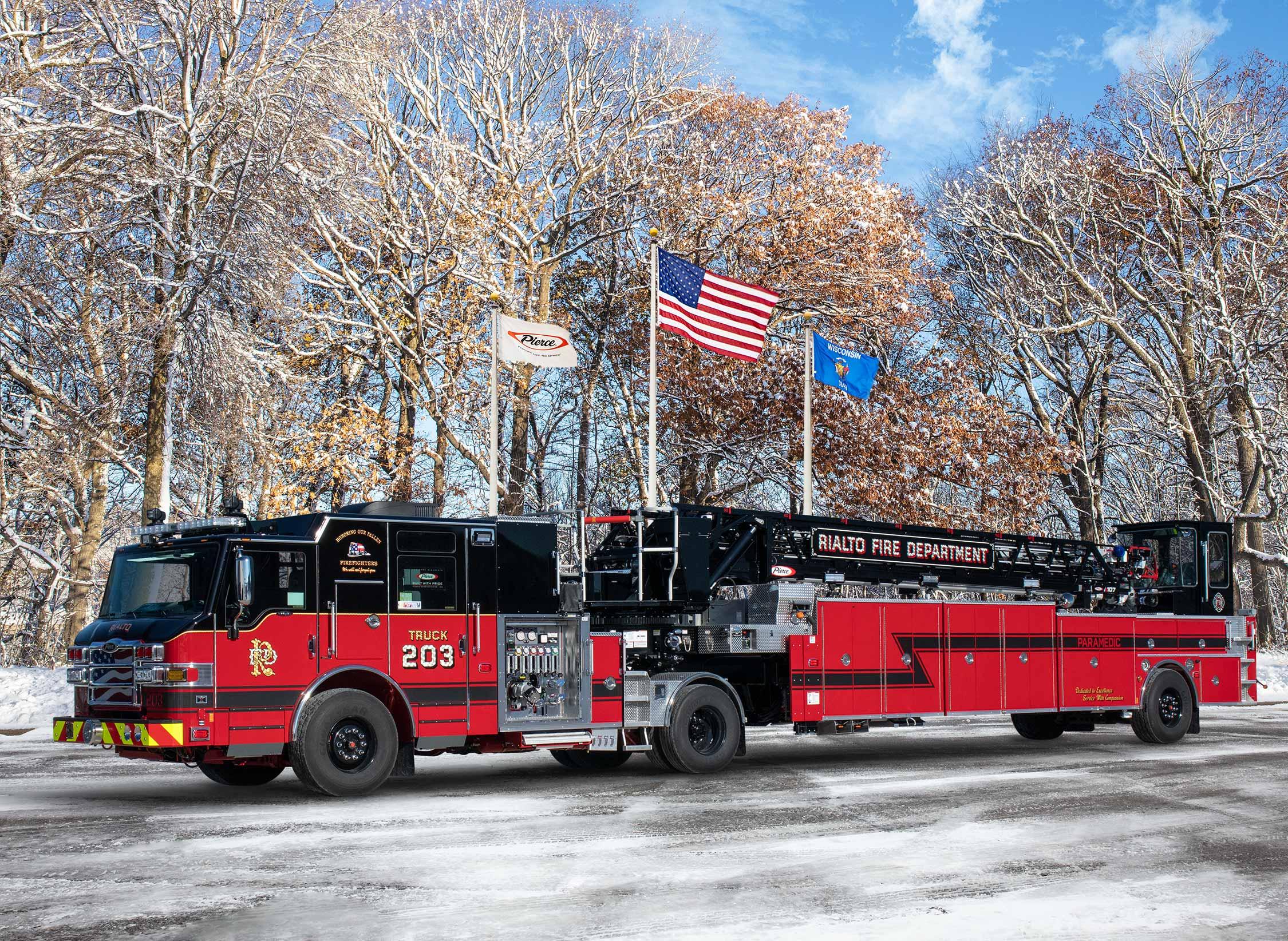 Rialto Fire Department - Aerial