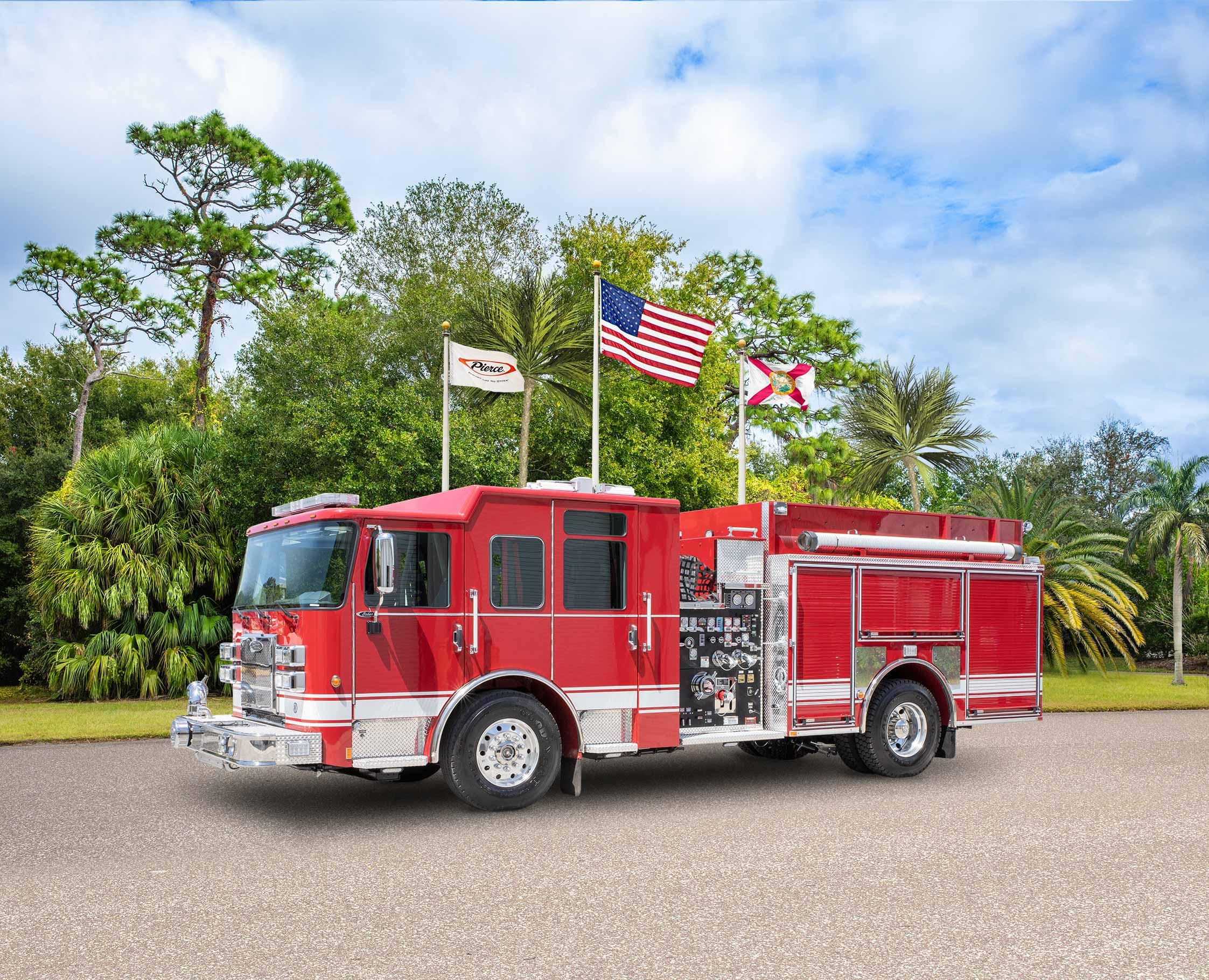 Orleans Fire Department - Pumper
