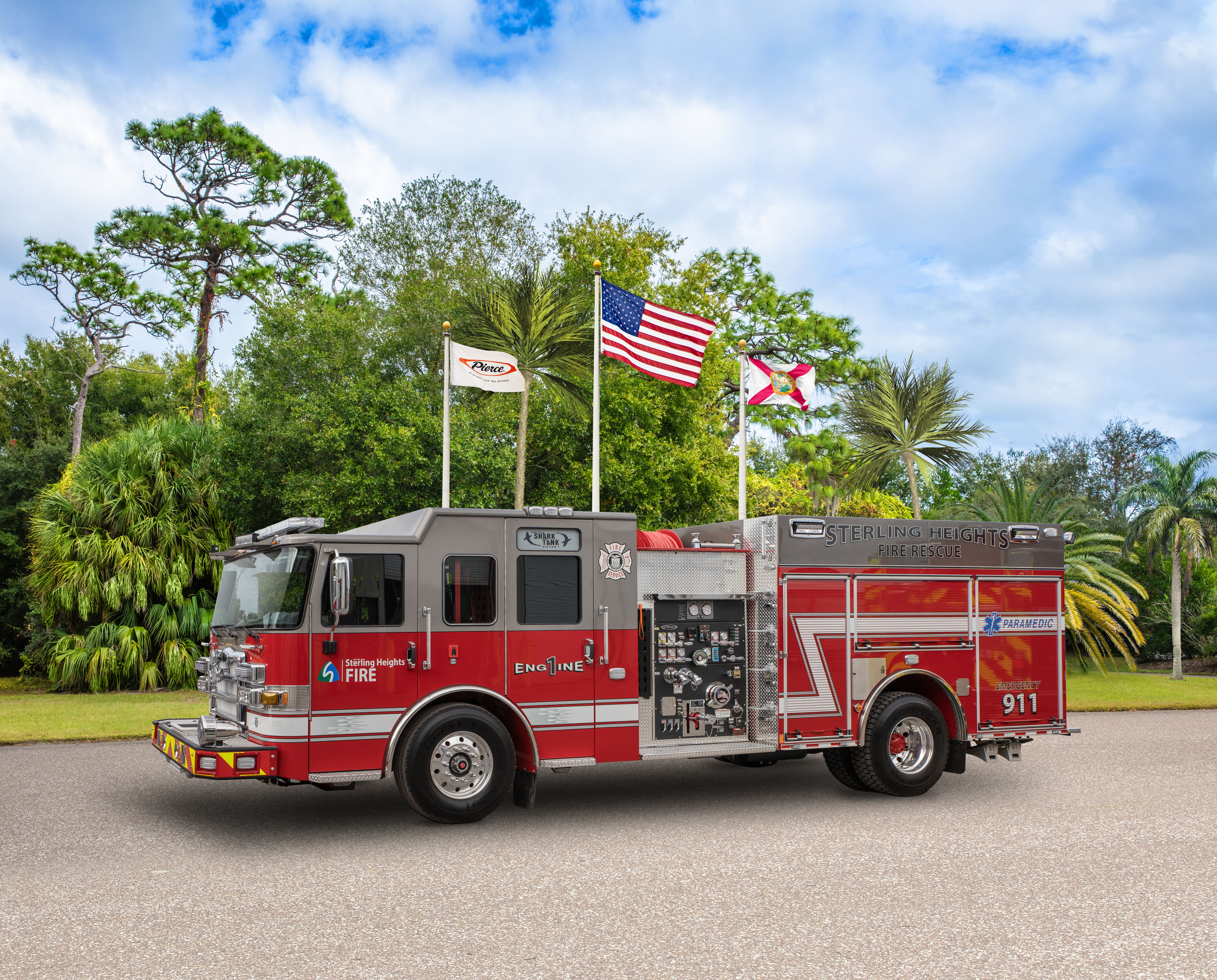 City of Sterling Heights Fire Department - Pumper