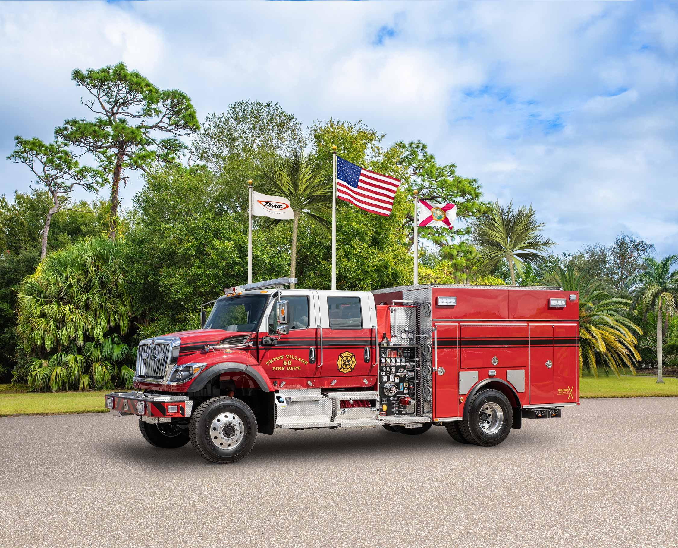 Teton Village Special Fire District - Pumper