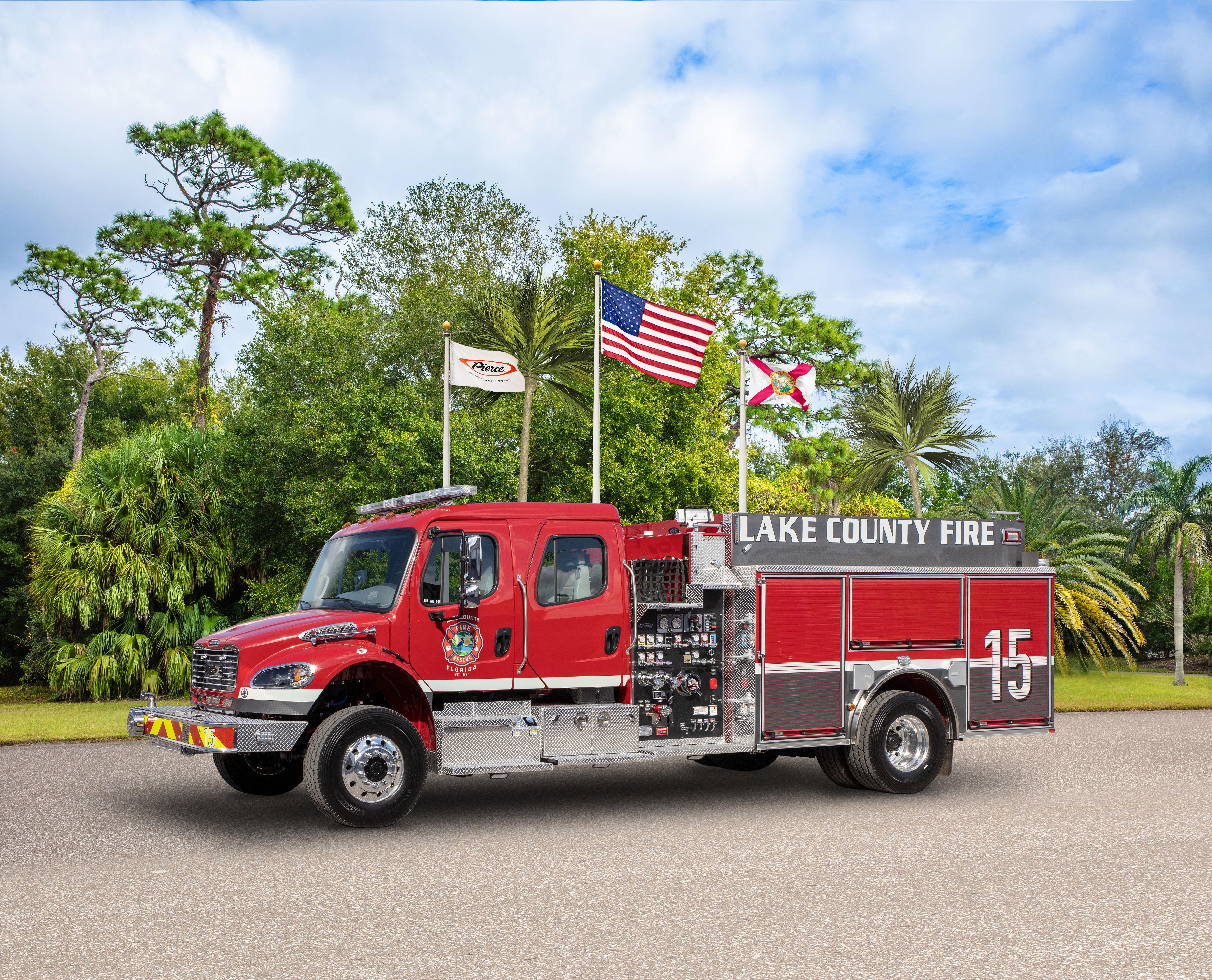 Lake County Fire Rescue - Pumper