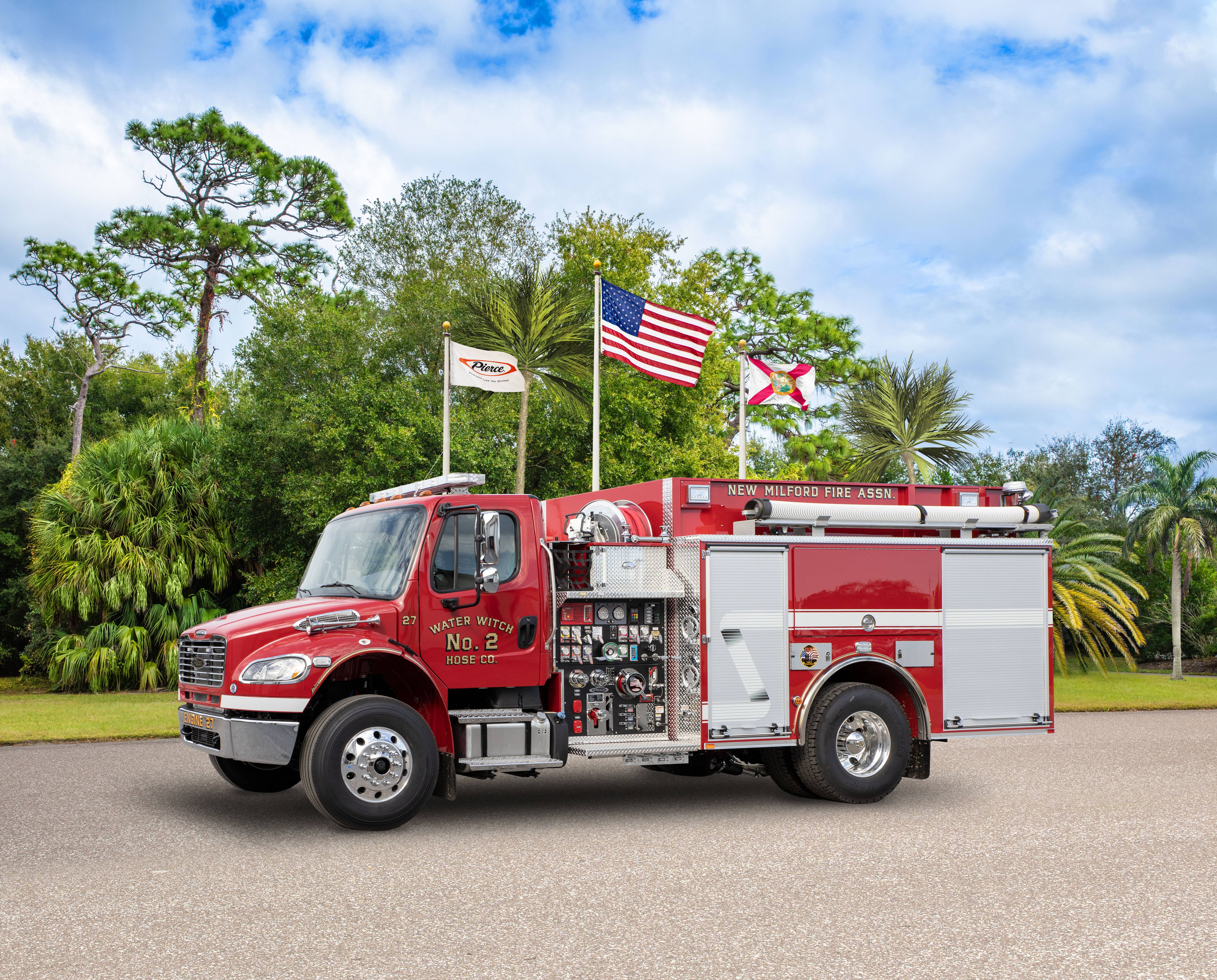 Water Witch Hose Company No.2 - Pumper