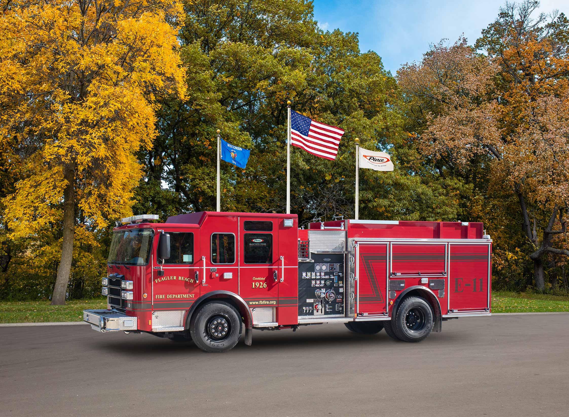 Flagler Beach Fire Department - Pumper