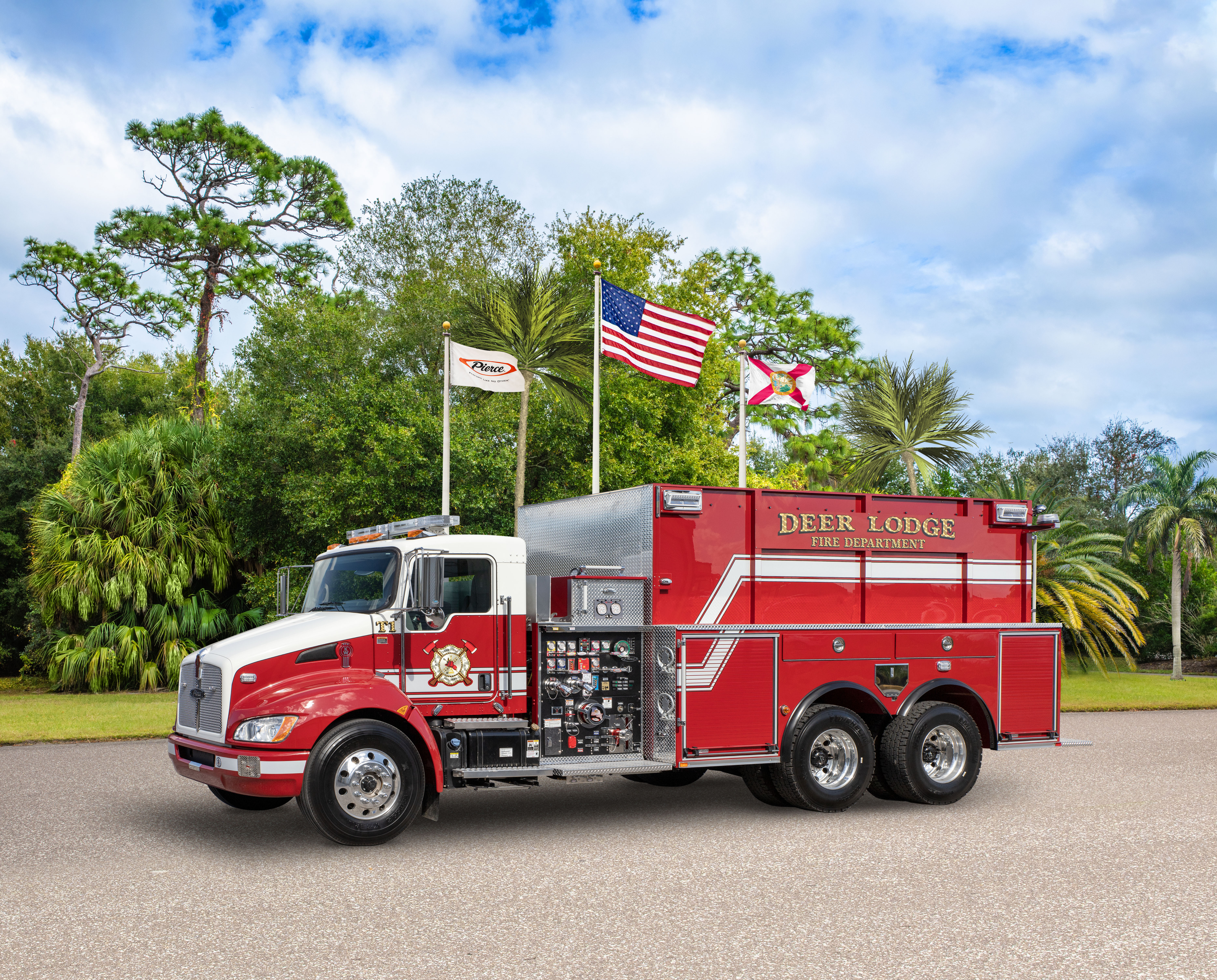 Deer Lodge Fire Department - Tanker