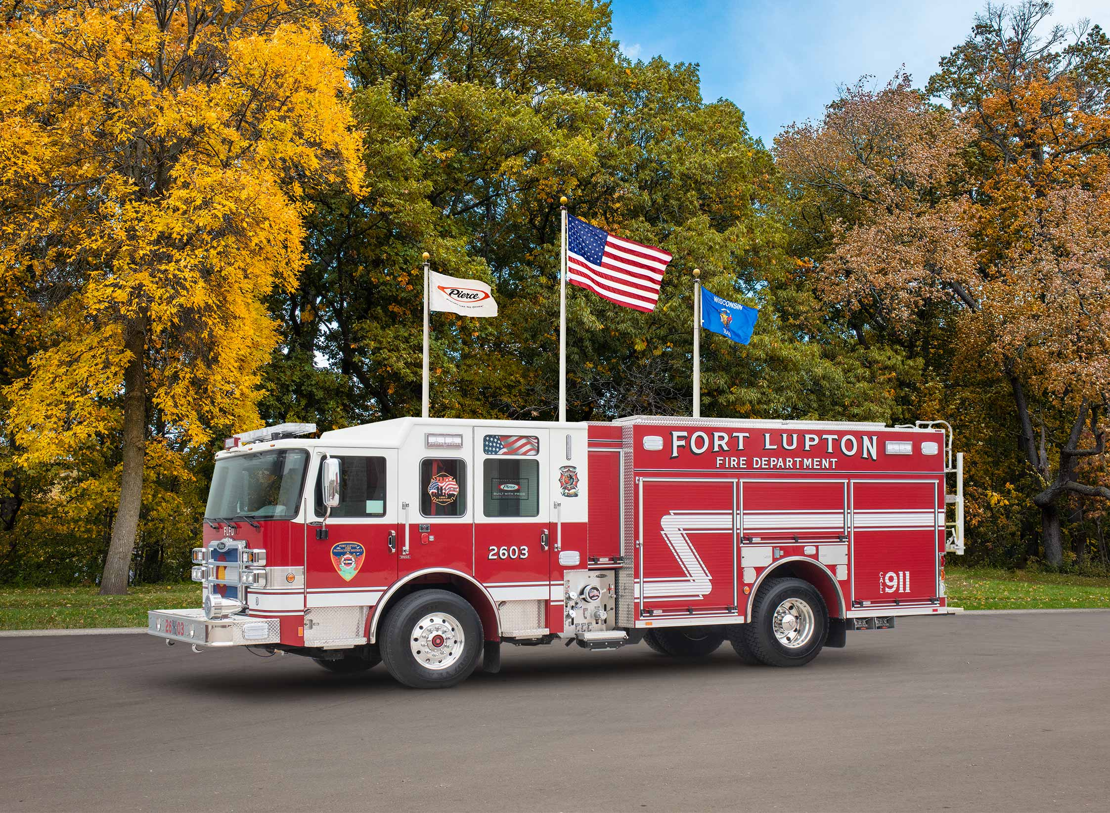 Fort Lupton Fire Protection District - Pumper