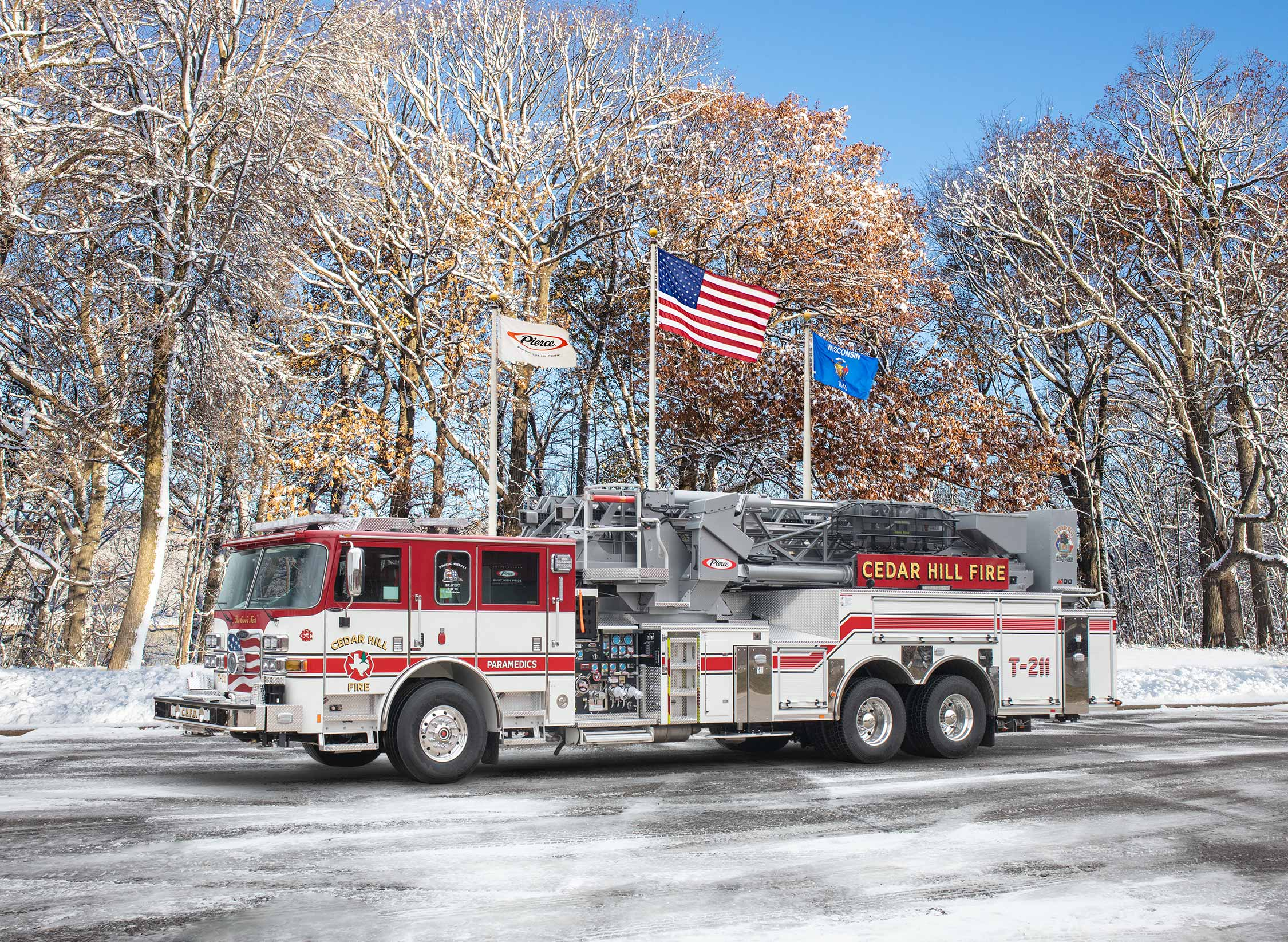Cedar Hill Fire Department - Aerial