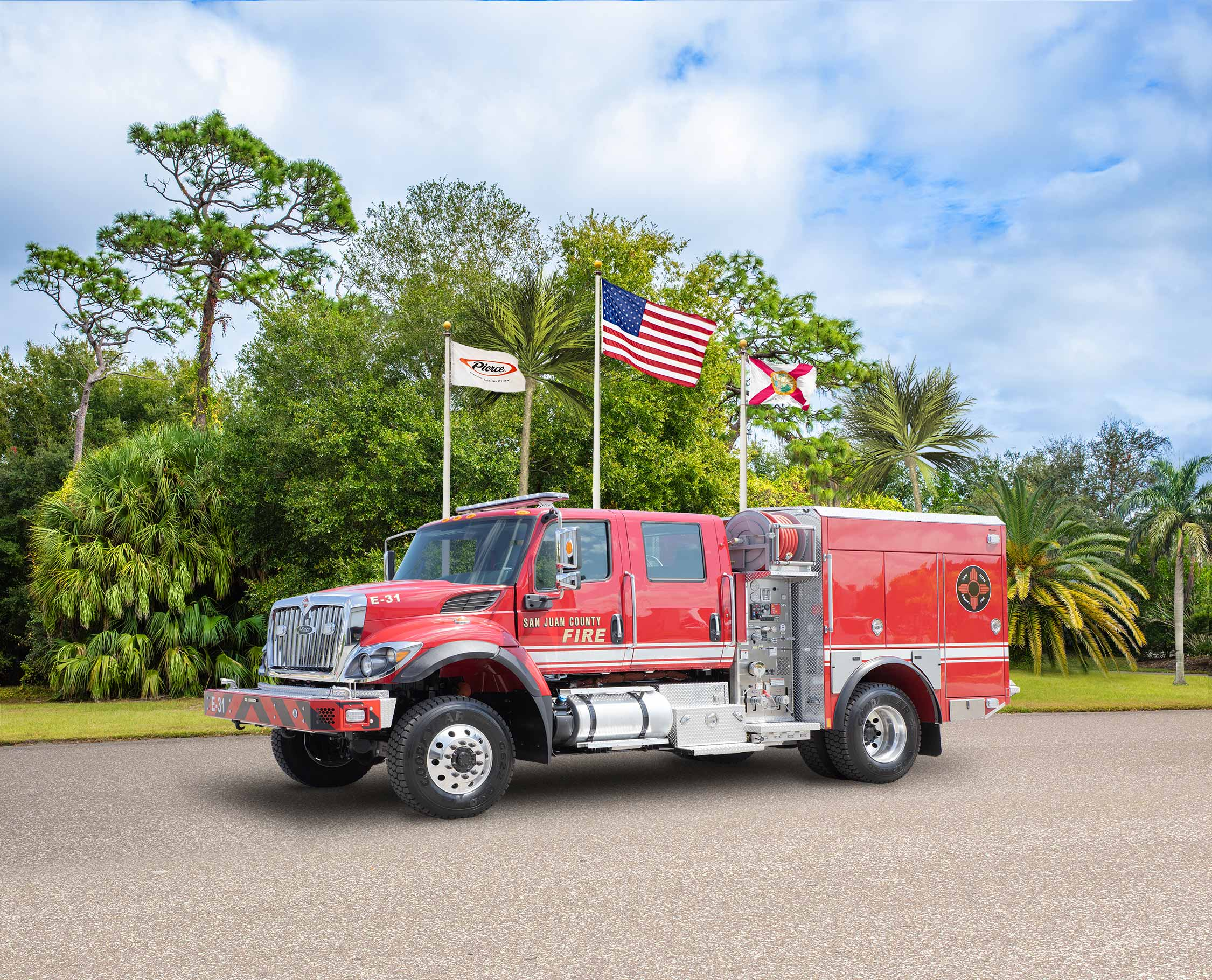 San Juan County Fire - Pumper