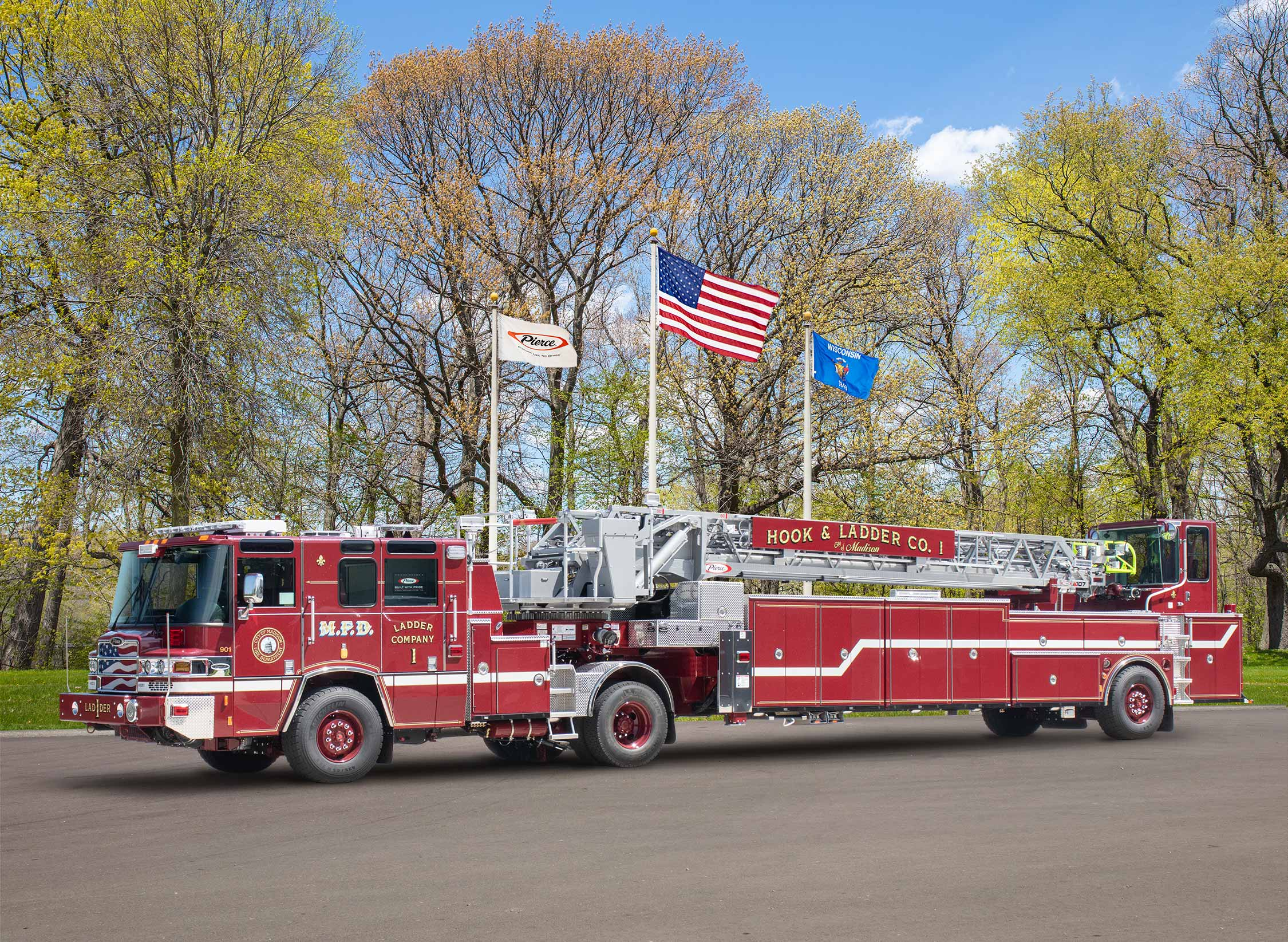 City of Madison Fire Department - Aerial