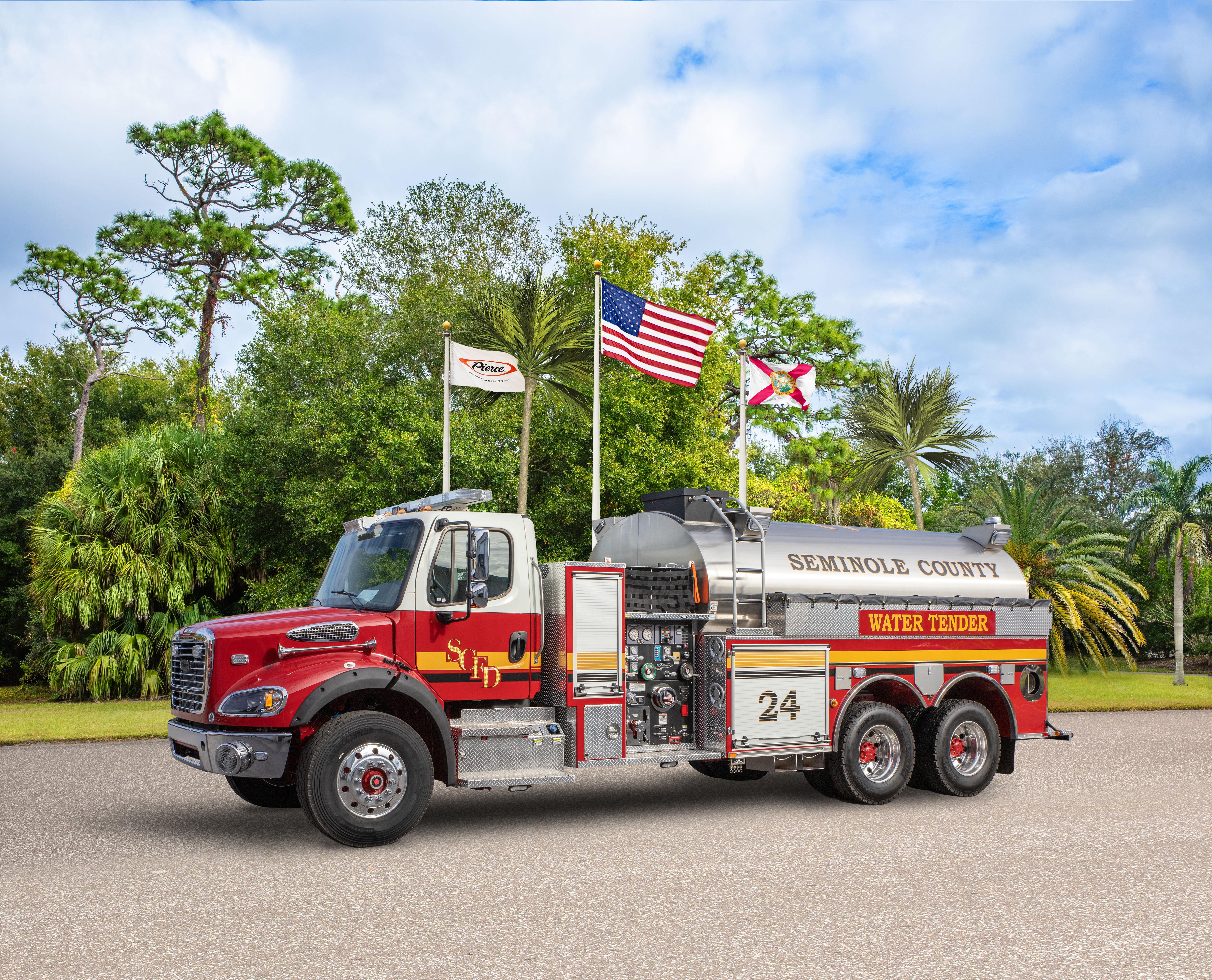 Seminole County Fire Department - Tanker