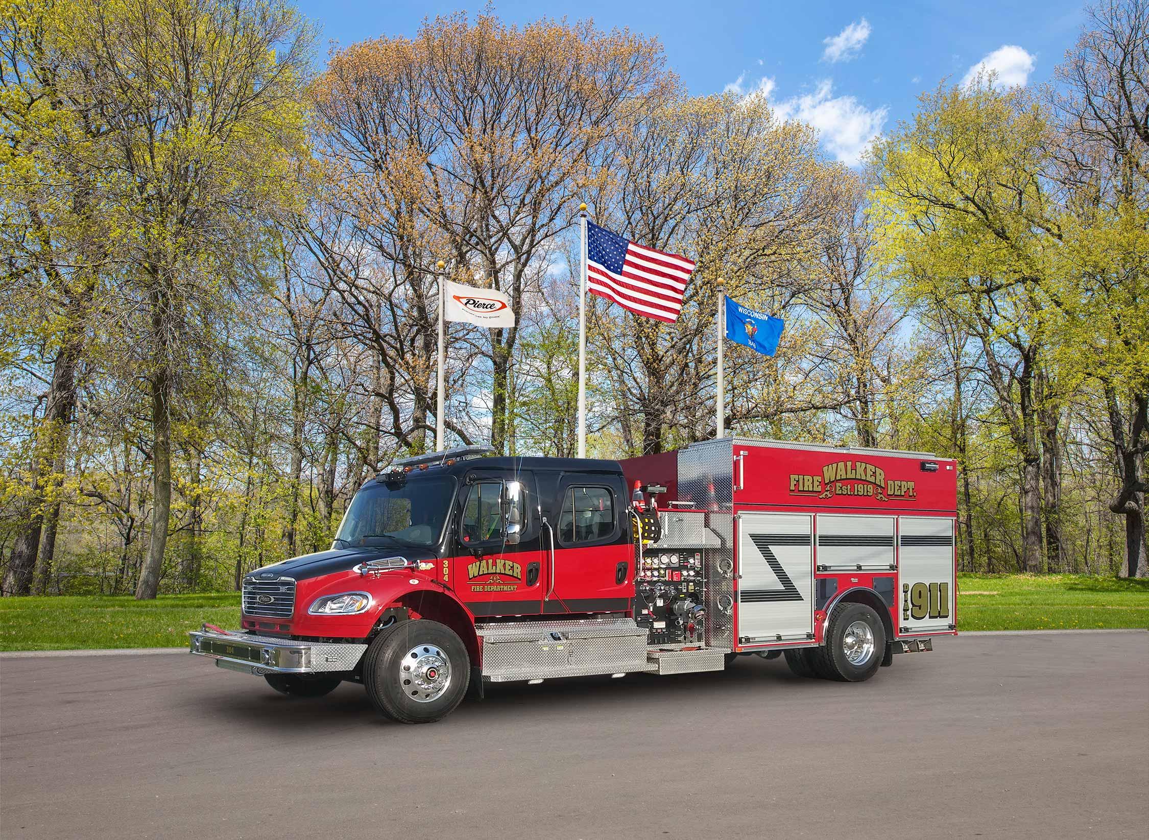 Walker Fire Department - Pumper